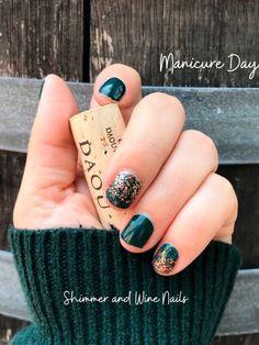 Nail Color Combos, Fall Nail Colors, Color Nails, Hair Colors, Pink Acrylic Nails, Rose Gold Nails, Fancy Nails, Pretty Nails, Wine Nails