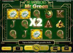 Automatová hra Marvellous Mr Green - http://www.slovenske-casino.com/online-kasino-hry/automatova-hra-marvellous-mr-green #HracieAutomaty #VyherneAutomaty #Jackpot #Vyhra  #Marvellous #MrGreen