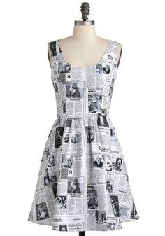 Start Spreading the Mews Dress, @ModCloth