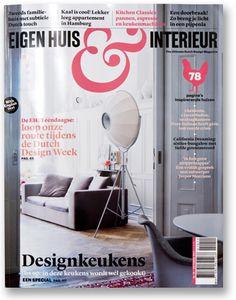 Loving that ampersand! Eigen Huis & Interieur Magazine