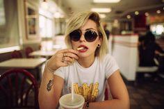 Fast food w/ @mashasedgwick #abouthiraeth #andrejosselin #losangeles #innout by andrejosselin