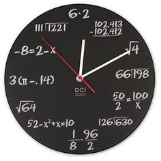Yes :) I'd be the only one in my dorm that could read that clock :)