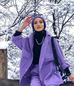 Modest Fashion, Girl Fashion, Fashion Dresses, Creative Instagram Photo Ideas, Street Hijab Fashion, Hijabi Girl, Cute Korean Girl, Muslim Women, Cartoon Icons