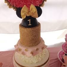 Image result for pink black and gold minnie mouse