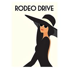Rodeo Drive Print Art by Americanflat