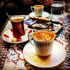 ✿ ❤ Turkish Coffee and Turkish tea