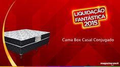 Liquidação fantástica 2015 - Cama Box Casal Conjugado - Visite nossa loja Magazine Dufrom no site: www.magazinevoce.com.br/magazinedufrom/ E-mail: engefrom@uol.com.br   MAGAZINE DUFROM, todos os dias com ofertas incríveis para voce.