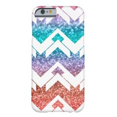 Sparkles chevron colors barely there iPhone 6 case   #pattern #zigzag #chevron #color  #glitter #sparkles #iPhone6case #iPhone6 #vgf