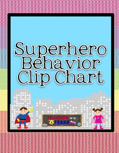 Teaming Up To Teach: More Superhero Classroom Stuff!