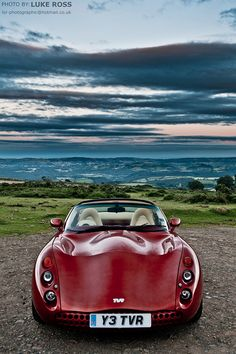 ♂ red car TVR #ecogentleman #automotive #cars #transportation