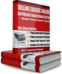 A great way to make money online is by selling Ebooks...