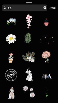 craft flowers Gif gifts for her flowers Instagram Blog, Instagram Emoji, Instagram And Snapchat, Instagram Story Ideas, Snapchat Search, Flowers Gif, Craft Flowers, Drawing Flowers, Bouquet Flowers
