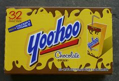 Getting a yoohoo in your lunchbox.