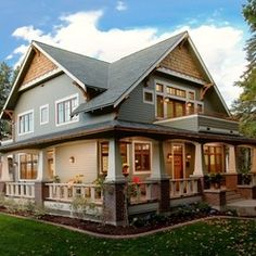 Detailed Craftsman Home Exterior Style Modern