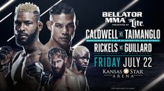 DARRION CALDWELL LOOKS TO SOLIDIFY HIMSELF AS NO. 1 CONTENDER AGAINST JOE TAIMANGLO DURING MAIN EVENT OF 'BELLATOR 159: CALDWELL VS. TAIMANGLO' – FRIDAY, JULY 22 – LIVE AND FREE ON SPIKE HOMETOWN H…