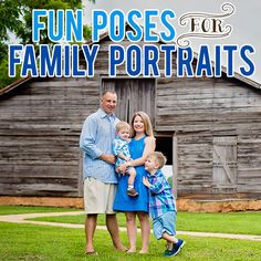 """Fall is one of our favorite seasons. Cooler temperatures, fall colors, pumpkins and family portraits just in time for the holidays. If you want to avoid becoming one of the latest victims of """"awkward family portraits,"""" we've got some great ideas to help you create beautifu"""