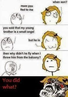 mom you lied to me when son Funny Troll, Funny Shit, The Funny, Funny Jokes, Funny Stuff, Rage Meme, Funny Images, Funny Pictures, You Lied To Me
