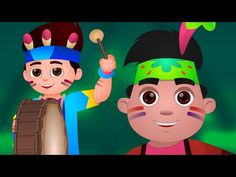 Ten Little Indians Nursery Rhyme by Chu Chu TV - get the drums and other… Fun Songs, Kids Songs, Winter Activities, Activities For Kids, Indian Nursery, Ten Little Indians, Best Nursery Rhymes, Film Gif, One Year Old Baby