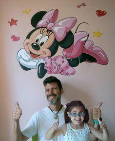 Minnie Mouse en el cuarto de juegos de mi amiguita Carla