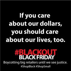 As many of us prepare for Black Friday boycotts, let's not forget the independent black owned businesses that need our support for the holidays and beyond!