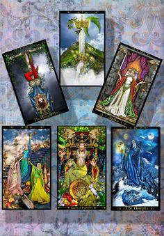 TAROT READING Six Cards Spread Psychic by PsychicTarotSpells