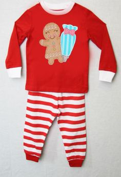 292646  Christmas Pajamas for Children  Personalized by ZuliKids