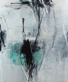 Spade II, 2014   Oil on canvas   88 x 72 inches