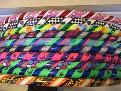 Duck Tape hula hoops
