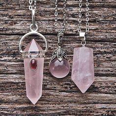 Rosa Quartz  #jewelry