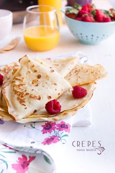 Crêpes masa basica