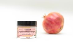 Handmade hydrating face cream 50ml with donkey milk 13% and pomegranate (ONOiamata-Handmade cosmetics)