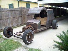 1925 Ford Custom Outside shot..