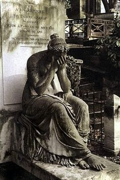 Père Lachaise Cemetery, Paris, Jim Morrison. leadsinger of the DOORS is burried there, I love this place <3