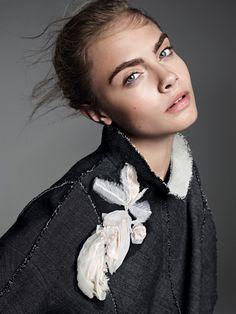 Cara Delevingne by Karim Sadli for Vogue US