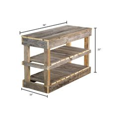 carpi del Hutson Designs Reclaimed Barnwood Natural Shoe Rack Bench - The Home Depot How To Shoe Rack With Shelf, Shoe Rack Bench, Wood Shoe Rack, Diy Shoe Rack, Bench With Shoe Storage, Shoe Racks, Shoe Rack Pallet, Homemade Shoe Rack, Rustic Shoe Rack