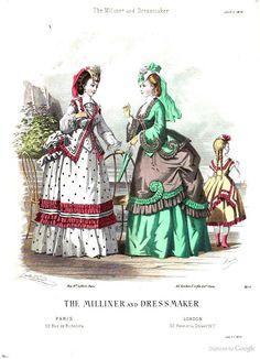 July 1870, The Milliner and Dressmaker