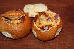 Mini Chili Bowl Appetizers