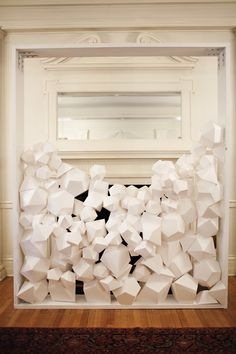 I am a huge fan of paper folding...this would go well with my mantel collection.  I'll post a photo soon.