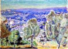 Le Cannet, View from the Pink House / Pierre Bonnard - 1926