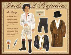 I want to dress Mr. Darcy!
