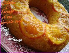 recette Gâteau à l'orange et aux abricots secs