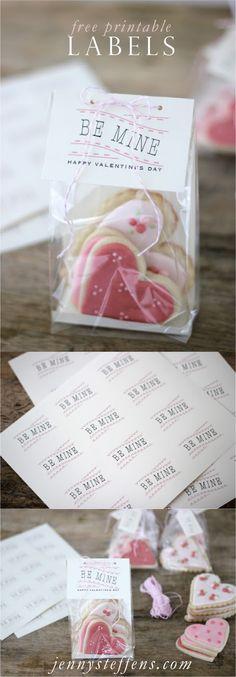 Jenny Steffens Hobick: Be Mine | Tags for Valentine's Day