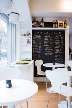 Lo spazio caffetteria