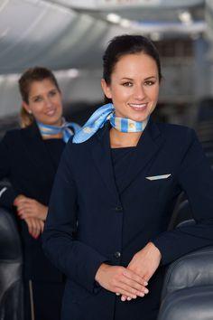 Jetair crew, Belgium Airline Uniforms, Female Pilot, Airline Flights, Boat Rental, Super Yachts, Cabin Crew, Flight Attendant, Beautiful, Silk Scarves
