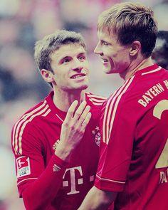Thomas Müller & Holger Badstuber