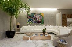 Loft do Galerista assinado pelos Arquitetos Paulo Melo e Paulo Andrade.