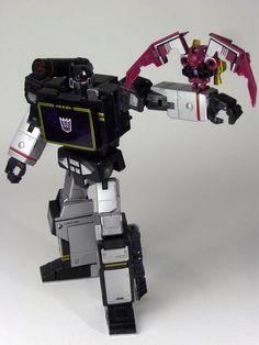 Transformers Masterpiece MP-13B Soundblaster with Ratbat