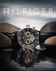 Tommy Hilfiger timepiece on water with real clouds advertising shot in New York by Timothy Hogan Glass Photography, Watches Photography, Jewelry Photography, Product Photography, Life Photography, Photography Ideas, Advertising Photography, Commercial Photography, Fashion Banner