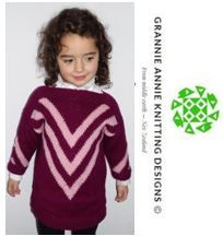 Child's Tunic knitting pattern