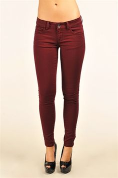 Kylie Skinny Jeans - Plum - loving this color!